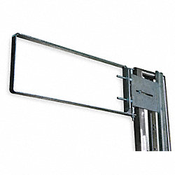 Adj Safety Gate, 28-30 1/2 In, Galv Steel