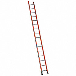 Ladder, 16 ft.H, 19 In. W, Fiberglass