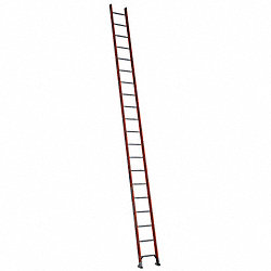 Ladder, 20 ft.H, 19 In. W, Fiberglass