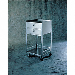 Equipment Stand, 300 Lb, Stainless Steel