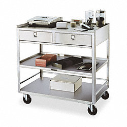 Equipment Stand, 500 Lb, Stainless Steel