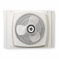 Window Fan, 2470/1700/1360 cfm, 16 in.