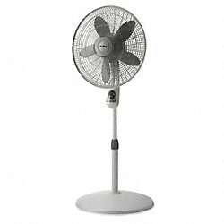 Pedestal Fan, Gry, 1955/1680/1360cfm, 18in.