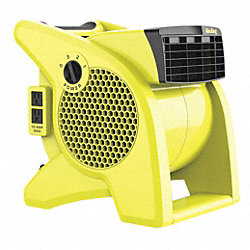 Blower, Portable, Safety Yellow, 115 V