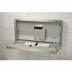 Baby Changing Station, Horizontal, SS