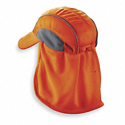 Cooling Hat, Orange, One Size