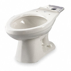 Pressure Assist Toilet Bowl, 1.6 GPF