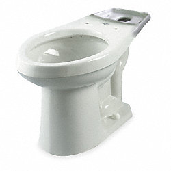 Gravity Flush Toilet Bowl, 1.6 GPF