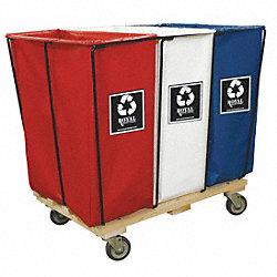Enviro Cart, 12 Bu, 3 Compartment