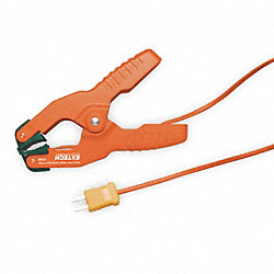 Pipe Clamp Temp Probe, -4 to 200 Deg F