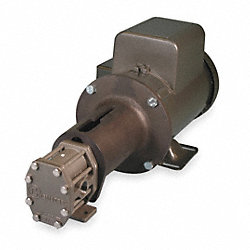 Rotary Gear Pump, 1 HP, 1 Phase