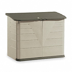 Outdoor Storage Shed, XL Horizontal, H 47