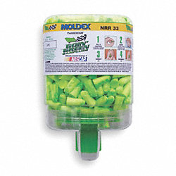 Ear Plugs, 33dB, W/o Cord, Univ, PK250