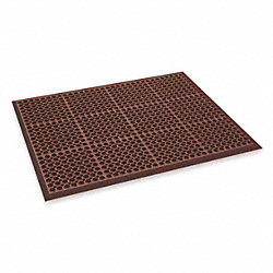 Kitchen Mat, Size 39 x 29 In, Red