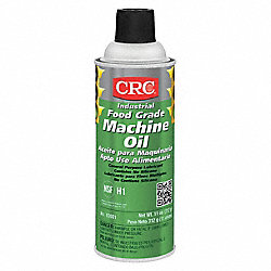 Food Grade Machine Oil, 16 oz, Net 11 oz