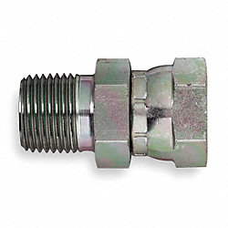 Adapter, NPTxNPSM, Straight, 1 1/2-11 1/2