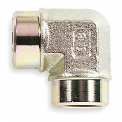 Hose Adapter, FNPT, 90 Degree Elbow