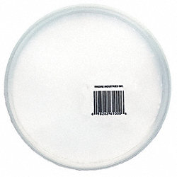 Lid, High Density Polyethylene, PK25