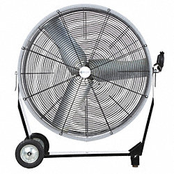 Air Circulator, 36 In, 11, 200 cfm, 115V