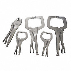 Locking Clamp Set, 5 Pc