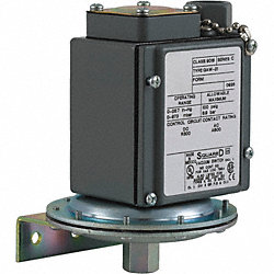 Vacuum Switch, DPDT, 1/4-18 FNPT