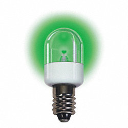 Mini LED Bulb, LM20120CS, 0.72W, T6, 120V