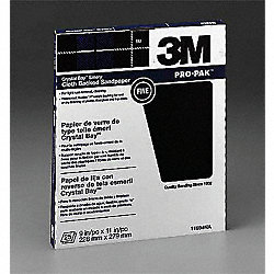 Emery Cloth, 11x9 In, Fine, Emery, PK250