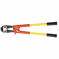 Bolt Cutter, 30 1/2 In, 1/2 In Cap