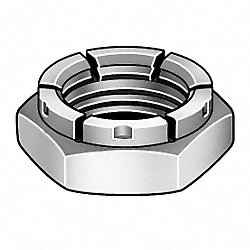Locknut, Flexible Top, 3/8-16, PK 100