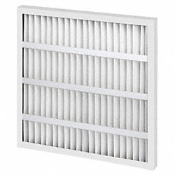 Std Cap.Pleated Filter, 24x24x1, MERV7
