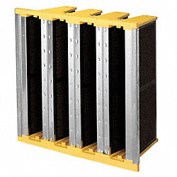 Activated Carbon Air Filter, 24x12x12