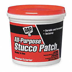 Stucco Patch, VOC Compliant, 1 Qt