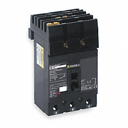 Circuit Breaker, Plug In, QD, 3Pole, 90A