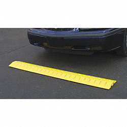 Poly Speed Bump Cable Guard, 10x2x72 In