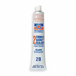 Gasket Sealant, 3 Oz Tube, Black