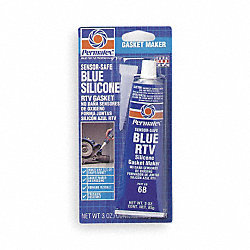 RTV Silicone, Sensor-Safe, 3 Oz Tube, Blue