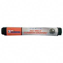 No Melt Lumber Crayon, Black, Pk 12