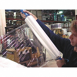 Hand Stretch Wrap, Clear, 800 ft.L, 20In W