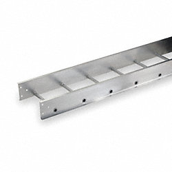 Ladder Tray, 12 Ft L x 12 In W, 75 lb Cap