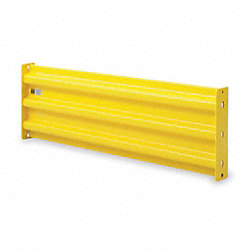 Guard Rail, 3-Rib, Bolted, Length 92 In