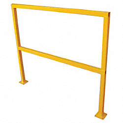 Sfty Hand Rail Section, L 96In, H 42-1/8In