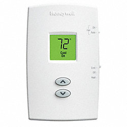 Digital Thermostat, 1H, 1C, NonProgrammable
