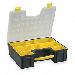 Non-Adjustable Box, 8 Compartments