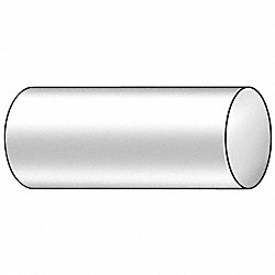 Centerless Round, 1045, 1 1/4 In D x1 Ft L