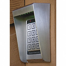Illuminated keypad Housing, SS