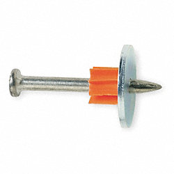 Fastener Pin With Washer, 2 1/2 In, Pk 100