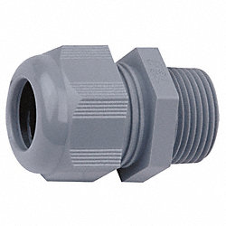 Cord Grip Connector, 1 Cord, 1/2 In