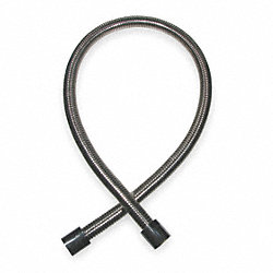 Hose, 39 In, Stainless Steel, 3/4-14 UNS