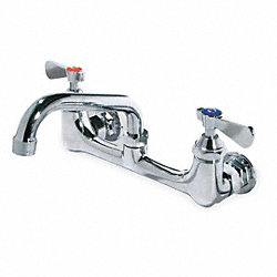 Kitchen Faucet, 2H Lever, Chrome
