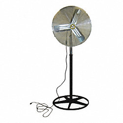 Air Circulator, 20 In, 2520 cfm, 115V